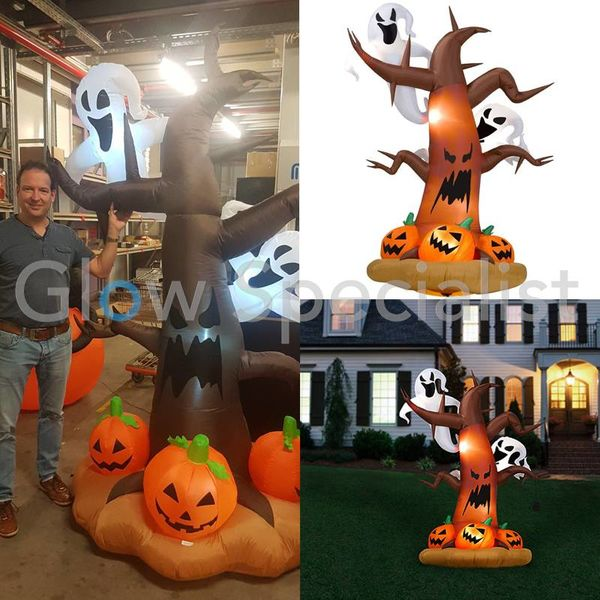 INFLATABLE FIGURE SPOOKY TREE - 240 CM