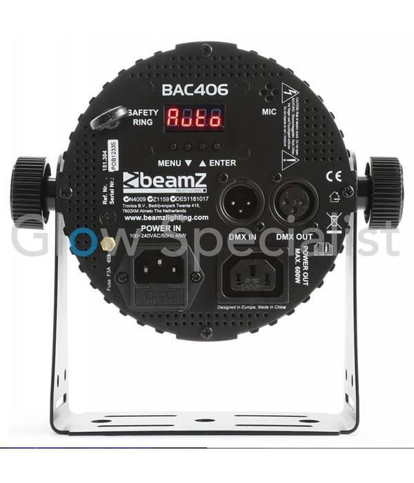 BeamZ BAC406 ALUMINUM LED SPOT 6x18W 6-IN-1 LED