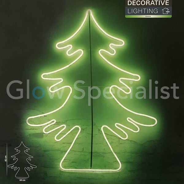 LED DECORATIVE LIGHTING - 300 LED - GREEN - CHRISTMAS TREE