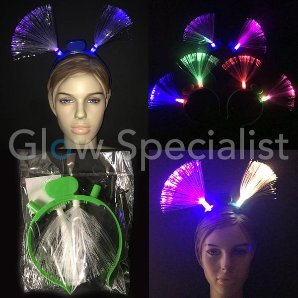 LED FIBER OPTIC HEADBAND