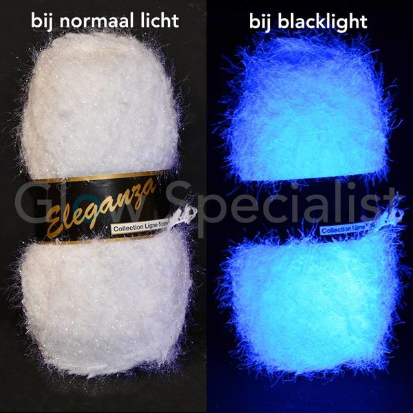 UV / BLACKLIGHT FANTASIE GAREN - ELEGANZA - WIT