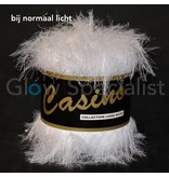 UV / BLACKLIGHT FANTASY YARN - CASINO - WHITE