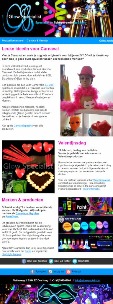Leuke ideeën voor Carnaval & Valentijn