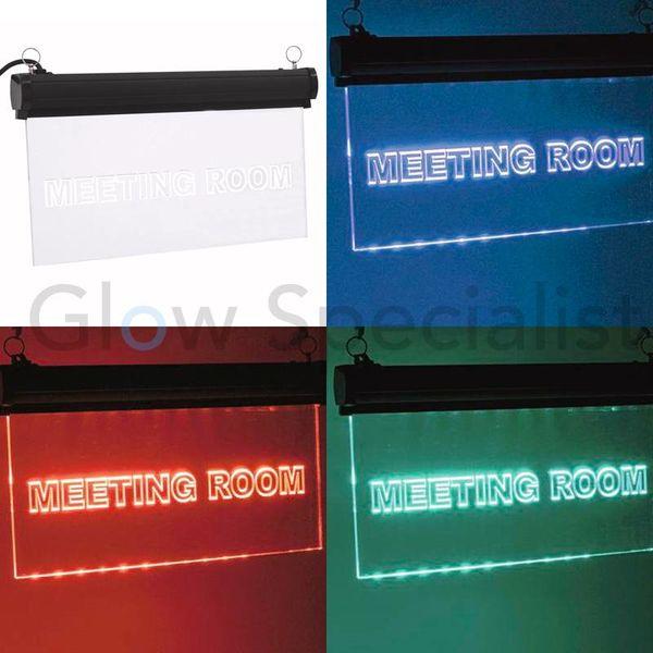 LED SIGN EUROLITE RGB - MEETING ROOM