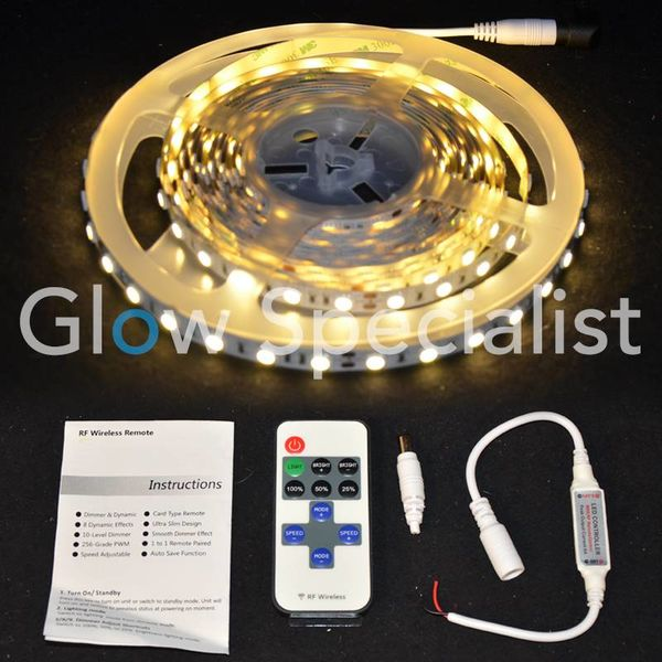 LED TAPE WARM WHITE - 5 METRES - 24V