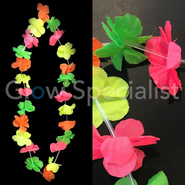 UV HAWAIIAN LEIS MULTICOLOR - BUDGET