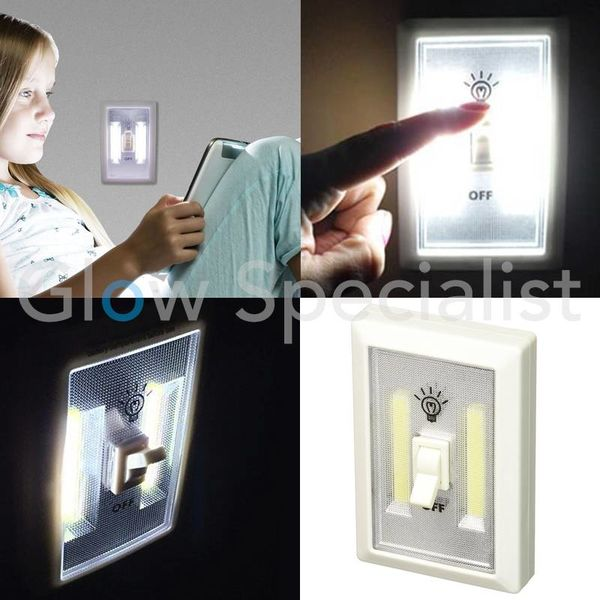 NOOD- / NACHTLAMP - COB LED SWITCH
