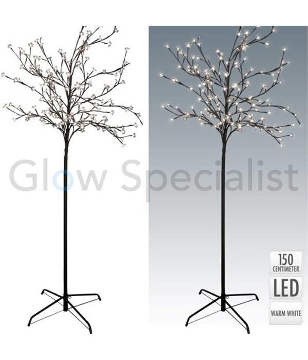 LED BLOESEMBOOM - 150 CM - WARM WIT - 120 LED - MET 8 FUNCTIES