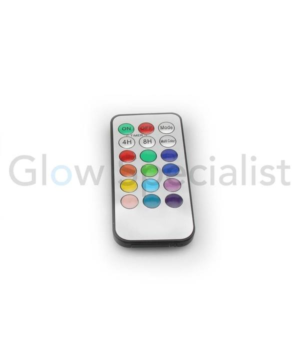 LED KAARSENSET MULTICOLOR - SET VAN 3 - MET AFSTANDSBEDIENING