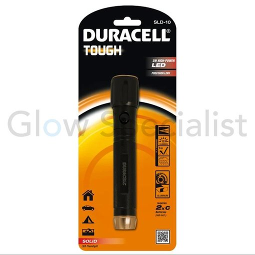 Duracell DURACELL LED FLASHLIGHT TOUGH 3W  - SLD-10