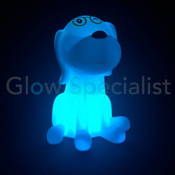 LED NIGHT LIGHT DOG - COLOR CHANGING