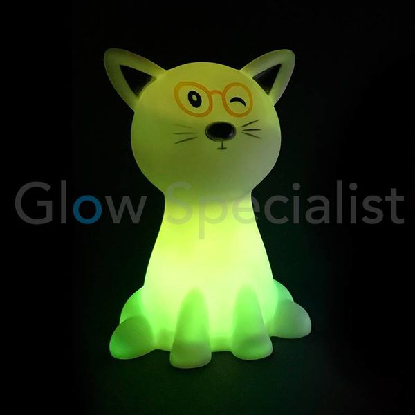 LED NIGHT LIGHT CAT - COLOR CHANGING