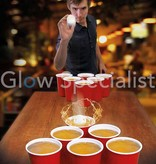 BEER PONG GAME - 9 PCS