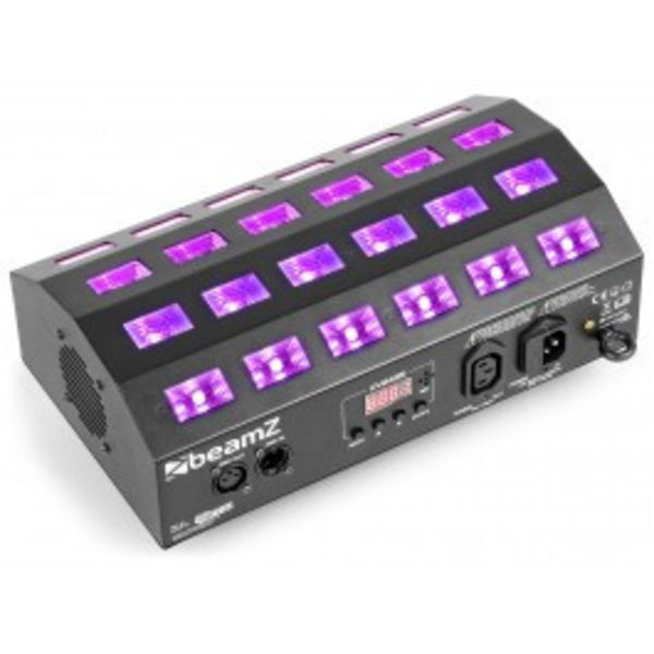 Beamz BUV 463 LED UV Stroboscoop