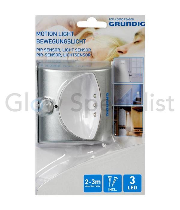 Grundig LED NIGHT LIGHT WITH PIR LIGHT SENSOR - 3 LED