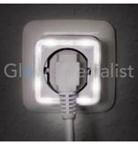 Grundig LED NIGHTLIGHT WITH SENSOR - 4 LED - WITH 230V SOCKET