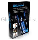 Grundig GRUNDIG LED STEREO EARPHONE WITH MICROPHONE  - WITH LIGHT-UP EARBUDS AND CABLE
