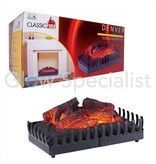 Classic Fire ELECTRIC LOG FIRE FOR EVERY MANTELPIECE AND FIREPLACE