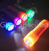 LED FLASHLIGHT - 1 LED