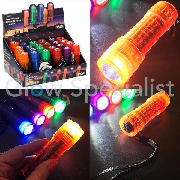 LED FLASHLIGHT - 1 LED