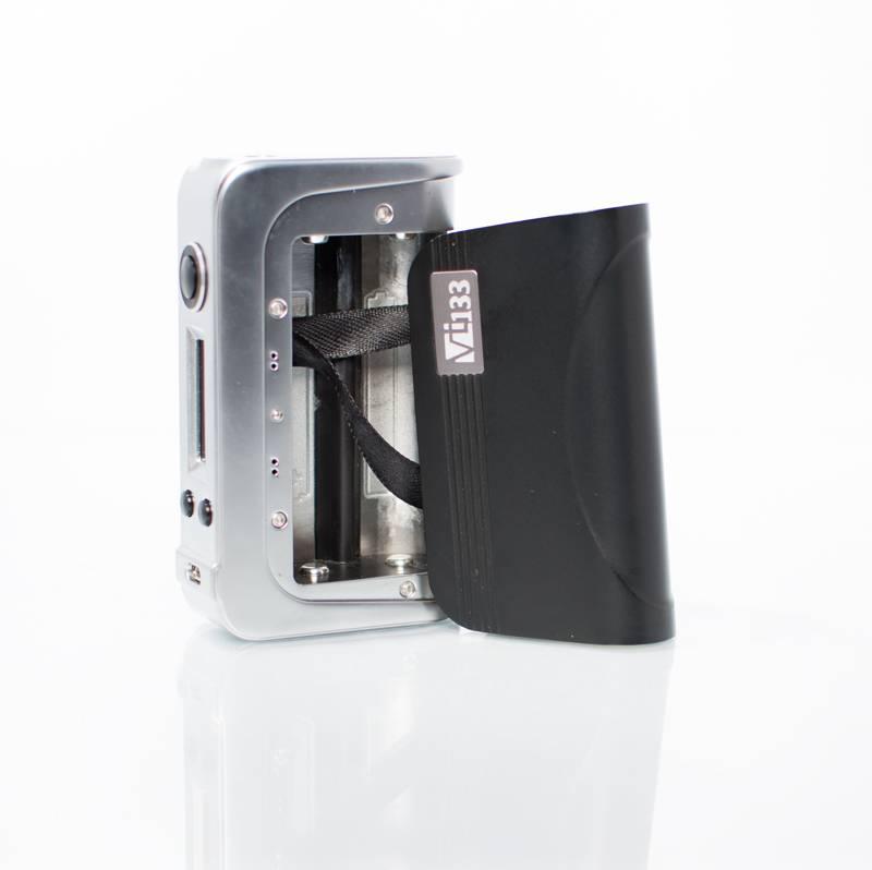 HCigar VT133 Box in silber und schwarz