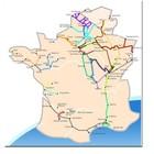 Frankrijk vaarwegen