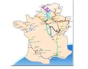 Frankrijk watersportkaarten