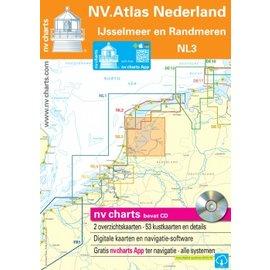NV Verlag NV VERLAG Atlas NL3 - IJsselmeer en Randmeren