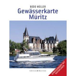 Delius Klasing Gewasserkarte Muritz