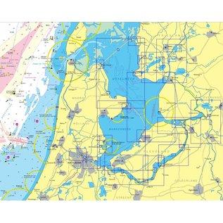 NV Verlag NV Atlas NL3 - Vaarkaart IJsselmeer en Randmeren 2017
