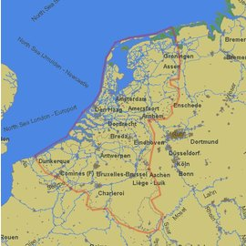 PC Navigo PC Navigo Benelux 2017 MET GPS ontvanger