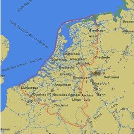 PC Navigo PC Navigo Benelux 2018 MET GPS ontvanger