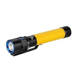 Olight ledlampen Olight S2 Baton geel 550 lumen led zaklamp