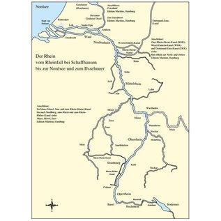 Delius Klasing Zeer complete vaarwijzer van de Rijn