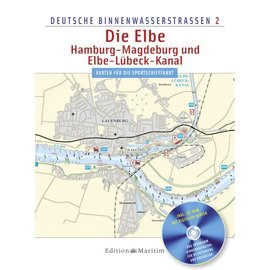 Delius Klasing Vaarkaart Elbe, Hamburg, Magdeburg 2