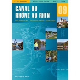Editions du Breil Vaarkaart Rhône au Rhin