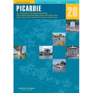 Editions du Breil Vaarkaart Picardie Frankrijk