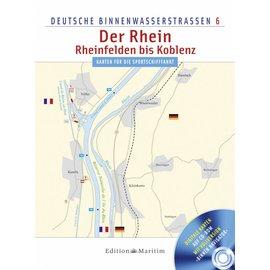 Delius Klasing Vaarkaart 6: Rijn: Reinfelden - Koblenz