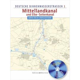 Delius Klasing Vaarkaart 1  Mittelland kanaal