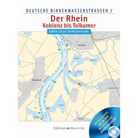 Delius Klasing Deutsche Binnenwasserstrassen 7: Rijn Koblenz - Tolkammer