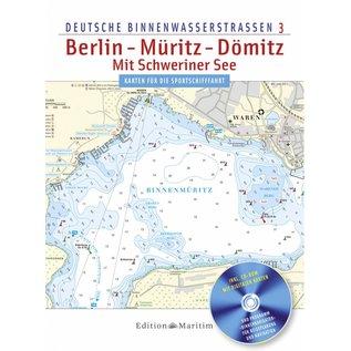 Delius Klasing Vaarkaarten Berlin – Müritz – Dömitz en Schweriner See