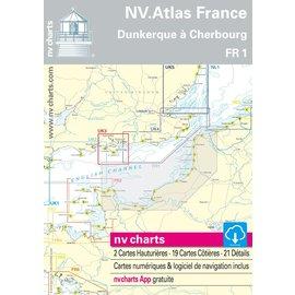 NV Verlag Frankrijk FR1 Van Oostende naar Cherbourg