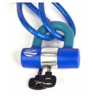 Stazo sloten Stazo beugelslot voor oog kabels