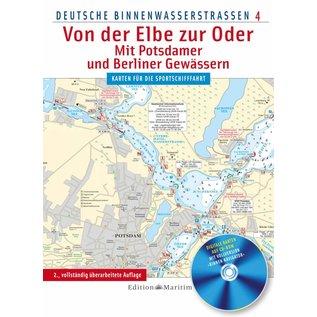 Delius Klasing Vaarkaart Duitsland Oost – Van de Elbe naar de Oder, incl Potsdam en Berlijn