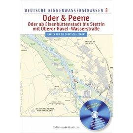 Delius Klasing Deutsche Binnenwasserstrassen 8: Oder en Peene