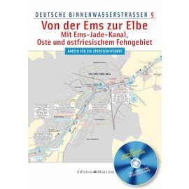 Delius Klasing Vaarkaart 9: Noord-Duitse binnenwater