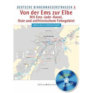 Delius Klasing Vaarwijzer 9 Noord-Duitse binnenwateren van de Eems tot de Elbe