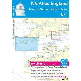 NV Verlag NV Atlas UK1 Engeland - Scilly Eilanden tot Start Point