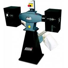 Femi 203 - Werkbankpolijstmachine industrial incl. afzuiging - 2200W - 400V