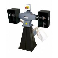 Femi 204 - Werkbankpolijstmachine industrial incl. afzuiging - 850W - 400V